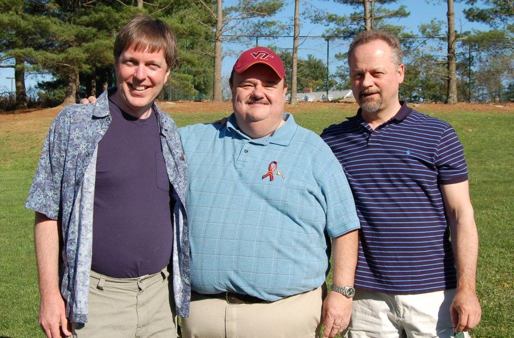 Allen McDonald, Kim Clark, John Shelor